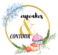 cupcakes and contour christmas logo
